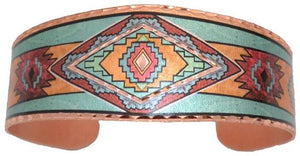 WE -- Bracelet Copper Color SW Native Design
