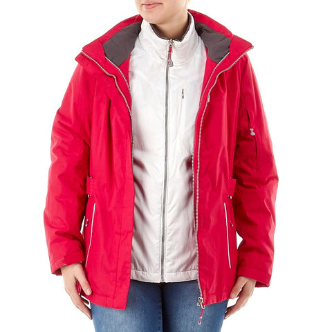 3-in-1 Systems Jacket with Detachable Hood