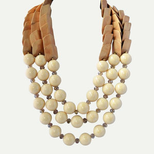 Best Dressed Wooden Necklace