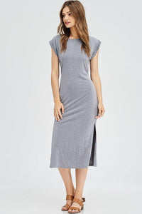 Bella Dress - Grey