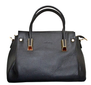 Bellano - Leatherbay Handbag / Black