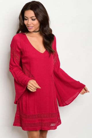 The Molly Red Dress
