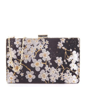 ISMAY FLORAL CLUTCH