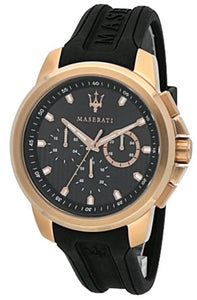 MASERATI SFIDA CHRONOGRAPH QUARTZ R8851123008 MEN'S WATCH