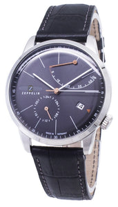 ZEPPELIN SERIES FLATLINE 7366-2 73662 AUTOMATIC GERMANY MADE MEN'S WATCH