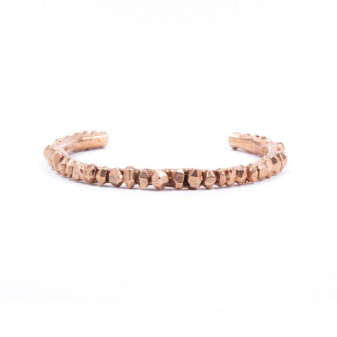CRYSTAL CLUSTER CUFF | ROSE GOLD VERMEIL