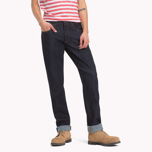 RAW DENIM STRAIGHT FIT JEAN