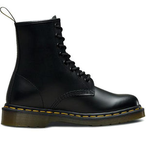 BLACK SMOOTH LEATHER BOOT