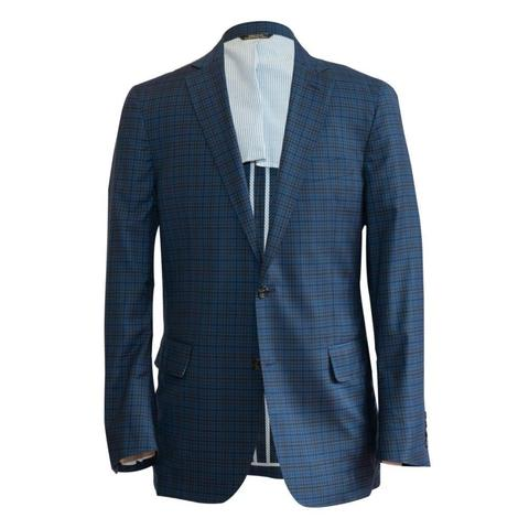 The Blue Multi Plaid Sport Coat
