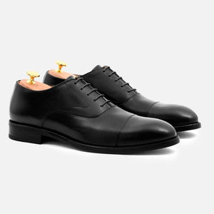 DEAN OXFORD - CALFSKIN LEATHER - BLACK