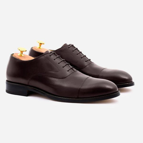 DEAN OXFORD - CALFSKIN LEATHER - BROWN