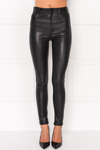 ESME B Leggings extensible en cuir