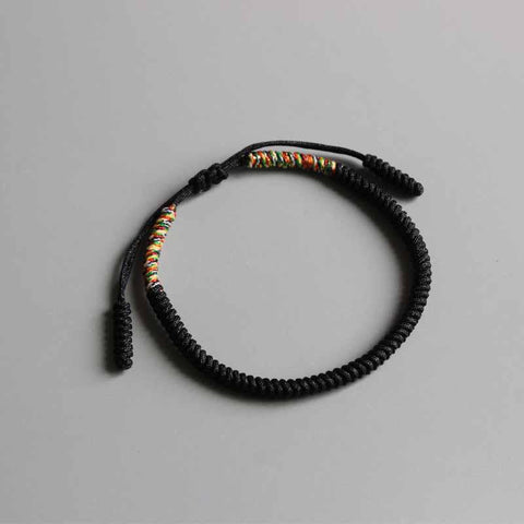 Authentic Tibetan Mantra Reciting Buddhist Lucky Knot Bracelet [NEW!]