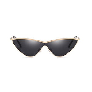 VINTAGE METALLIC CAT-EYE SUNGLASSES