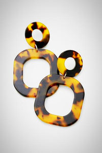 Ohh Ovals Resin Earrings