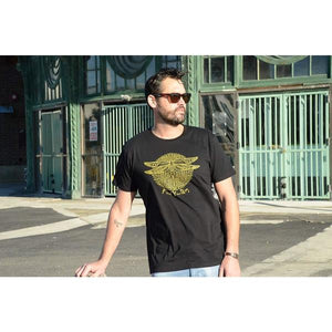 Find Your Way - Men's Black Organic Cotton T-shirt