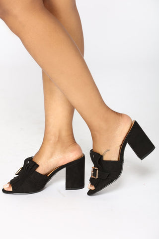 Marrietta Mule - Black