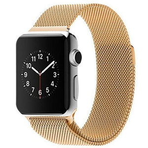 Gold Milanese Loop Apple Watch Band