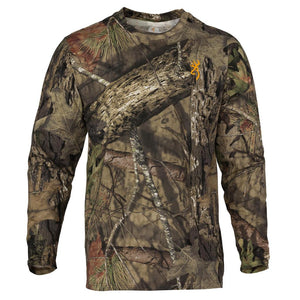 Wasatch-CB Long Sleeve T-Shirt - Mossy Oak Break-Up Country, Small