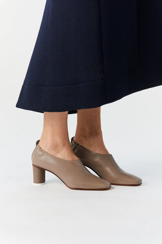 MICOL PUMPS, TAUPE