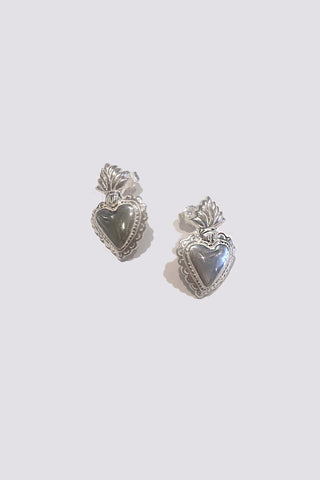 HEARTS ON FIRE II STUD EARRINGS