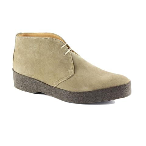 Sanders - Hi Top Chukka Boot - Dirty Buck Suede