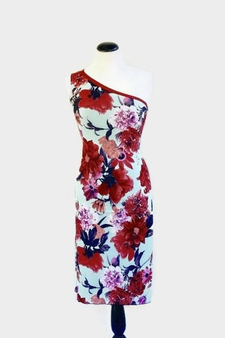 A-Line Dress - Floral Fantasy