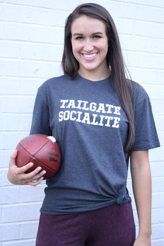 GAME DAY TEES GRAY TAILGATE SOCIAL