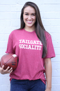 GAME DAY TEES CRIMSON TAILGATE SOCIAL