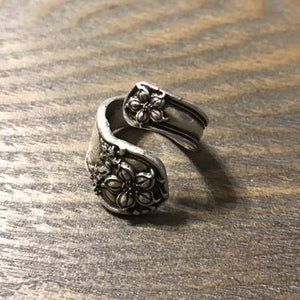 Handmade Spoon Flower Ring