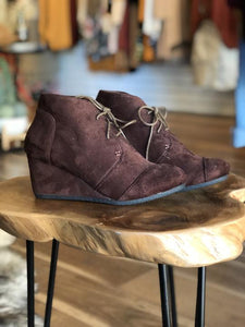 Chocolate For Breakfast Ankle Boots