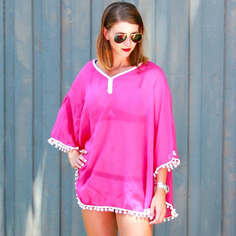 Katydid  CHIFFON BEACH COVER UP
