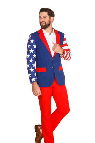 SUBTLE SAVAGE AMERICAN FLAG BLAZER | PRE-ORDER | DELIVERY LATE JUNE 2018