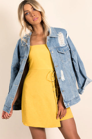 JUST WHAT I NEEDED DENIM JACKET
