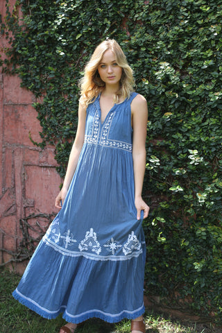 JOLIE DRESS IN BLUE