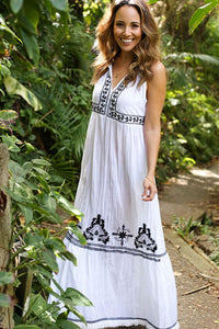 JOLIE DRESS IN WHITE