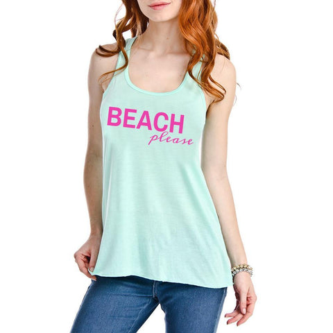 Katydid  BEACH PLEASE GRAPHIC TANK TOP