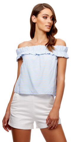 TALLADEGA OFF SHOULDER TOP