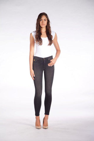 "YOGA JEANS CONTEMPORARY RISE SKINNY 30"" - LOUVRE"
