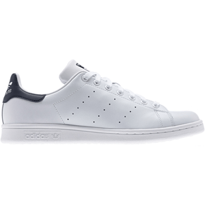ADIDAS ORIGINALS STAN SMITH TRAINERS- WHITE/NAVY