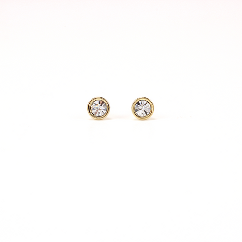 Swarovski Mini Post Earrings Clear