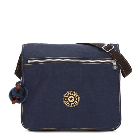 Madhouse Messenger Bag - True Blue
