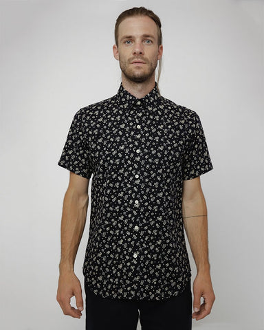 The Dylan Shirt Short Sleeve | Flowers and Hearts