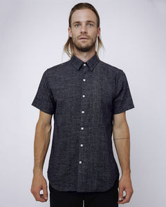 The Dylan Shirt Short Sleeve | Tiny White Dots