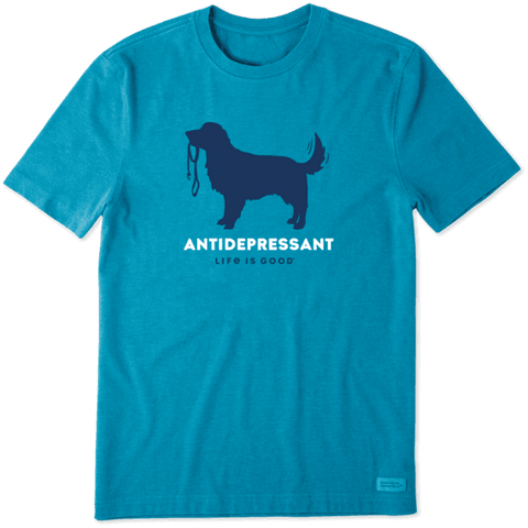 MEN'S CANINE ANTIDEPRESSANT CRUSHER TEE