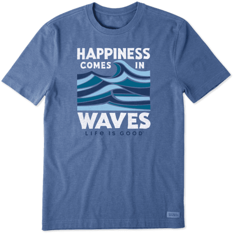 MEN'S COMES IN WAVES CRUSHER TEE