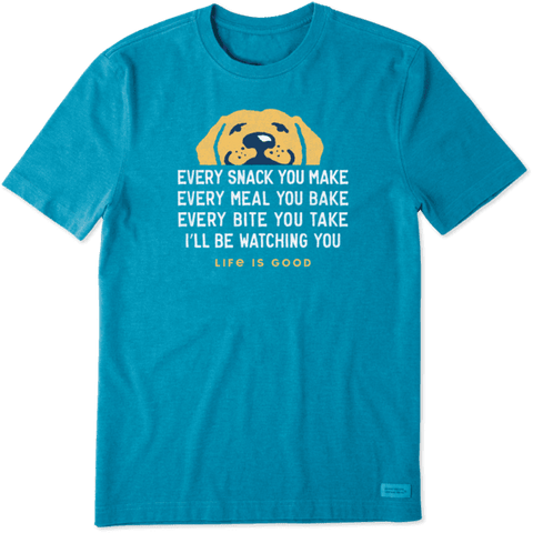 MEN'S I'LL BE WATCHING YOU CRUSHER TEE