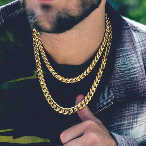 Miami Cuban Link Choker Bundle