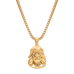 JESUS NECKLACE - GOLD