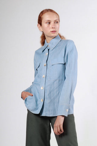 narryna shirt light denim